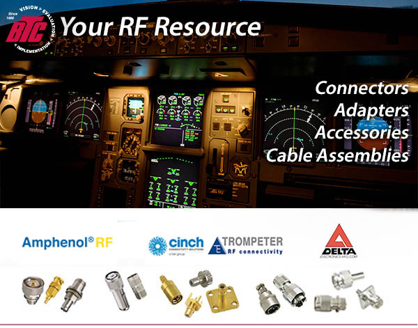 RF Connectors, RF Accessories, RF Adapters, RF Cable Assemblies